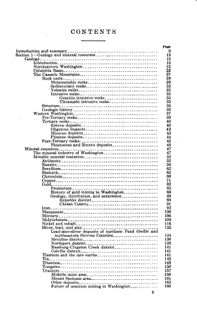 Mineral and Water Resources of Washington PDF