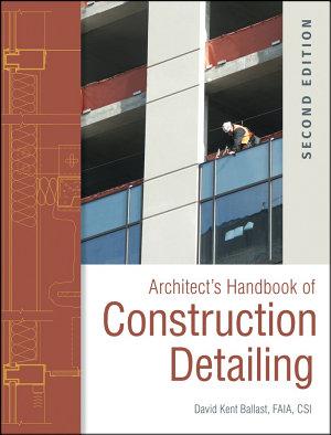 Architect s Handbook of Construction Detailing PDF