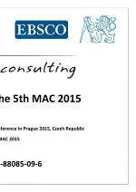Proceedings of The 5th MAC 2015