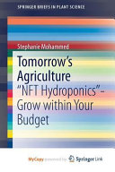 Tomorrow s Agriculture PDF