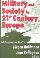 Military and Society in 21st Century Europe PDF