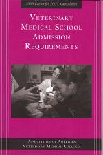 Veterinary Medical School Admission Requirements