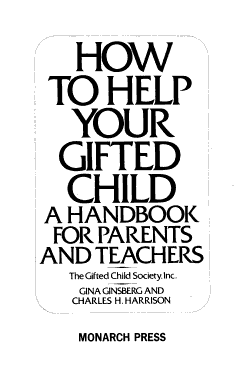 How to Help Your Gifted Child PDF