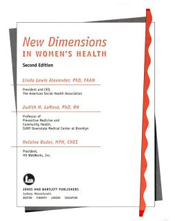 New Dimensions in Women s Health Book