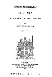 Virginia, a history of the people