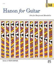 Hanon for Guitar: In TAB