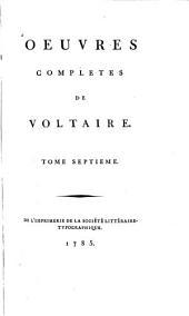 Œuvres complètes de Voltaire: Volume56