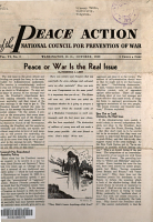Peace Action of the National Council for Prevention of War PDF