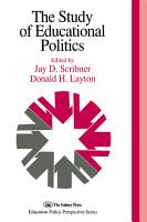 The Study Of Educational Politics PDF