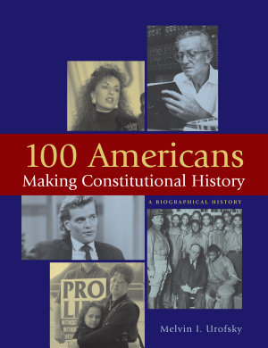 100 Americans Making Constitutional History PDF