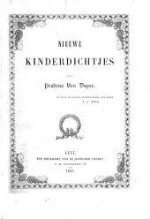 Nieuwe kinderdichtjes: versjes, fabelen, rangstukjes, zedespreuken en sprookjes
