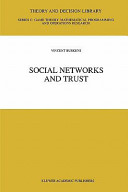 Social Networks and Trust