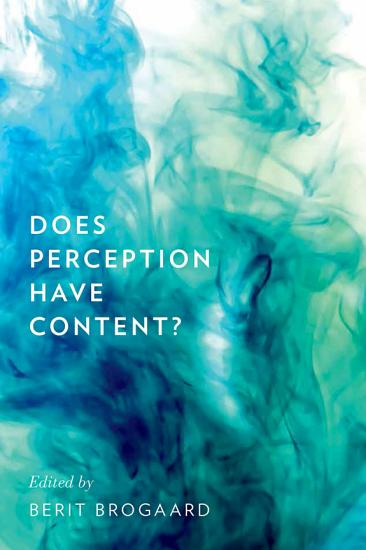 Does Perception Have Content  PDF
