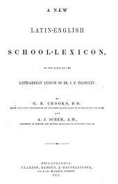 A New Latin-English School-lexicon