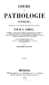 Cours de Pathologic interne