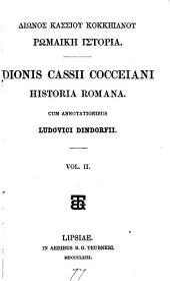 Dionis Cassii Cocceiani Historia romana