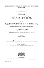 Official Year Book of the Commonwealth of Australia No  3   1910 PDF