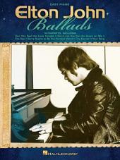 Elton John Ballads Songbook