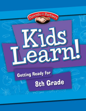 Kids Learn  Getting Ready for 8th Grade  Second Language Support    eBook PDF