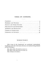 Circulars of information: Issues 1-6