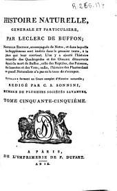 Histoire naturelle generale et particuliere: Volume55