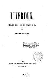 Liverdun. Notice historique