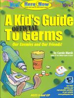 A Kid s Official Guide to Germs PDF