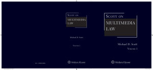 Scott on Multimedia Law  4th Edition PDF