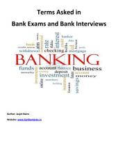101 Terms and Definitions Asked in Bank Exams