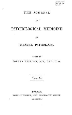 The Journal of Psychological Medicine and Mental Pathology PDF