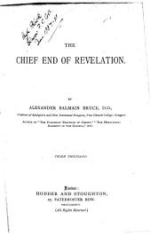 The Chief End of Revelation