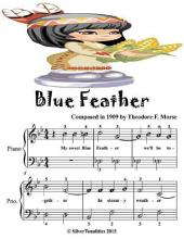 Blue Feather - Easiest Piano Sheet Music Junior Edition