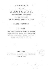 La Riqueza de las naciones, 2: nuevamente explicada con la doctrina de su mismo investigador ...