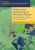 Mathematical Epidemiology of Infectious Diseases PDF