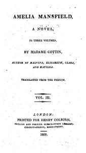 Amelia Mansfield: A Novel, Volume 3