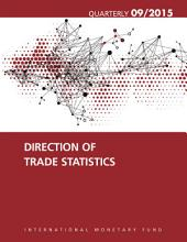 Direction of Trade Statistics  September 2015 PDF
