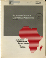 Sources of Growth in East African Agriculture PDF