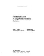 Fundamentals of Managerial Economics PDF