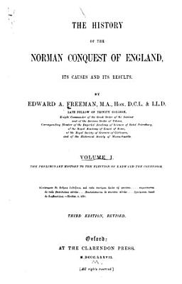The History of the Norman Conquest of England PDF
