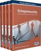Entrepreneurship  Concepts  Methodologies  Tools  and Applications PDF