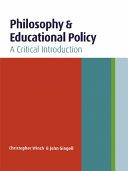 Philosophy and Educational Policy