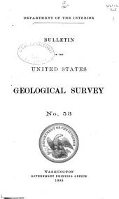 Bulletin - United States Geological Survey: Volumes 53-54