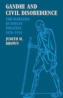 Gandhi and Civil Disobedience PDF