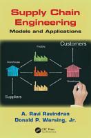 Supply Chain Engineering PDF