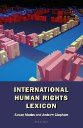 International Human Rights Lexicon