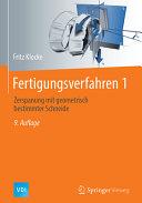 Fertigungsverfahren 1 PDF
