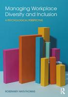 Managing Workplace Diversity and Inclusion PDF