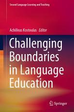 Challenging Boundaries in Language Education PDF