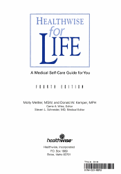 Healthwise for Life PDF