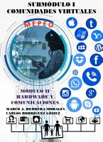 Subm  dulo I  Comunidades virtuales PDF